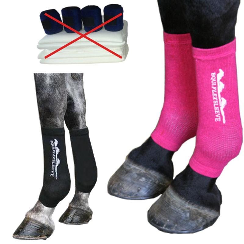 Chaussettes de contention pour cheval