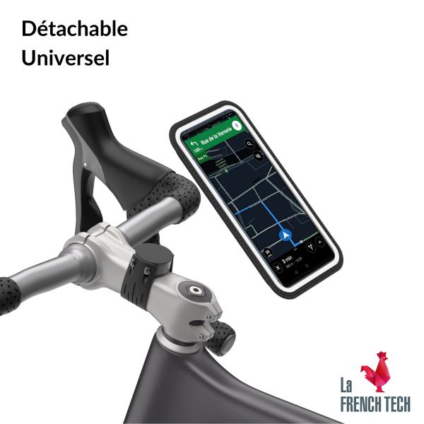 Support de téléphone magnétique pour vélo