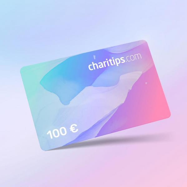 Carte cadeau Charitips de 100€