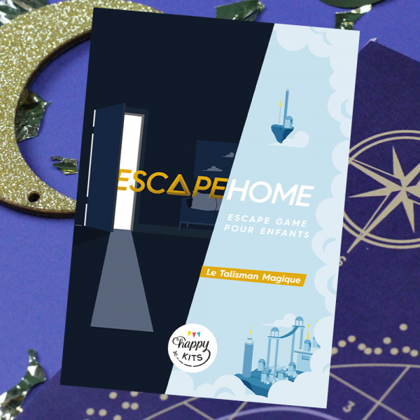 Escape Home pour enfants  - Le Talisman Magique