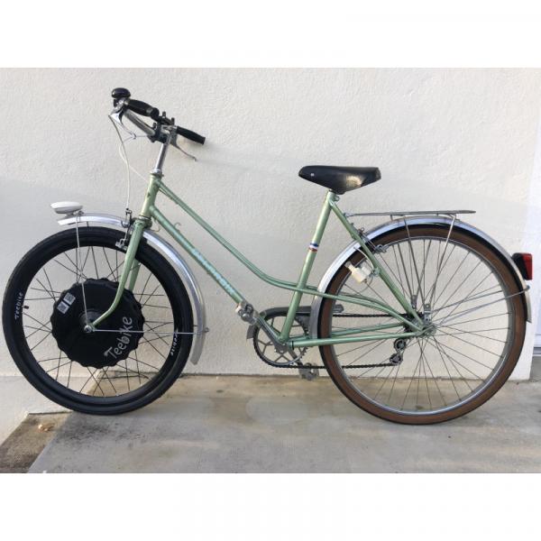 Vélo reconditionné électrifié Teebike