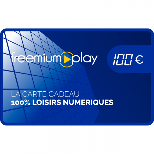Carte Cadeau FreemiumPlay