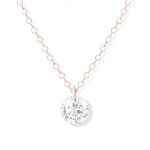 Un collier Jana Rose, diamant éthique et éco-responsable (0,10 carat)