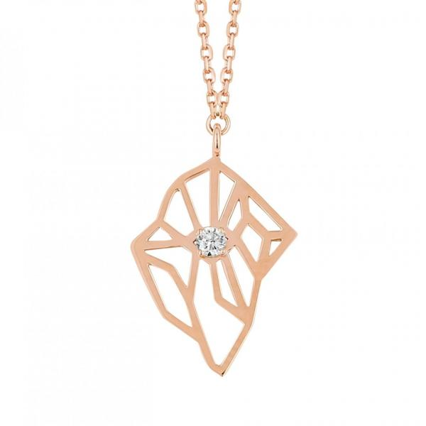 Un collier Jana Rose, diamant éthique et durable