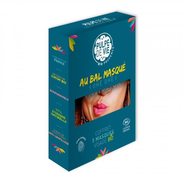Coffret 5 masques hydratants