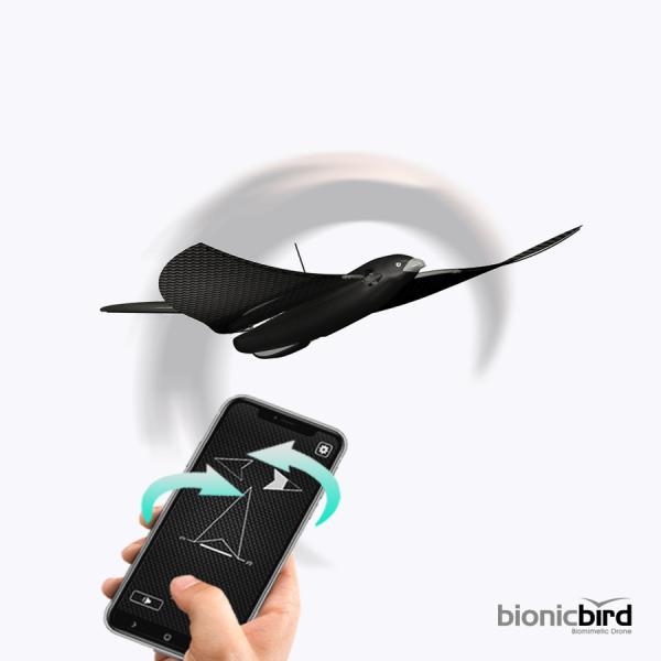 MetaBird by BionicBird - Oiseau volant piloté par Smartphone