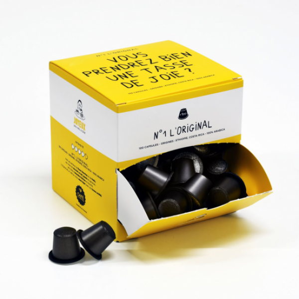Capsules de café Joyeux (x100)