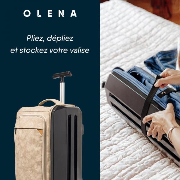 Olena - la valise pliable innovante