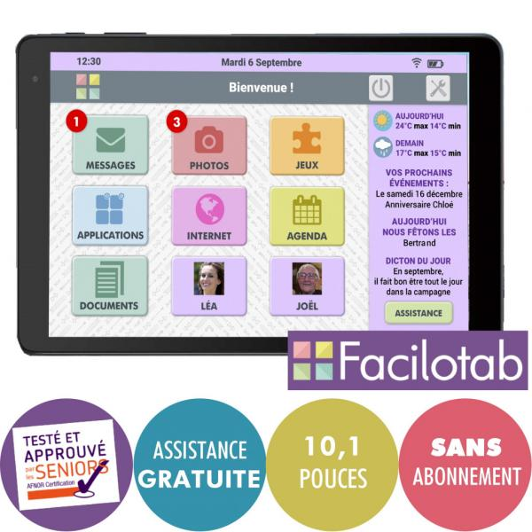 Tablette Facilotab